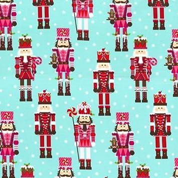 Fat Quarter Nutcrackers Christmas Cotton Quilting Fabric - Michael ... : quilting fabric uk - Adamdwight.com