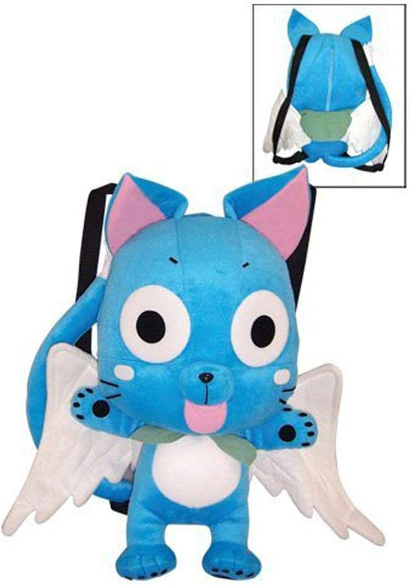 Great Eastern Fairy Tail Happy Peluche Bag: Amazon.es: Juguetes y juegos