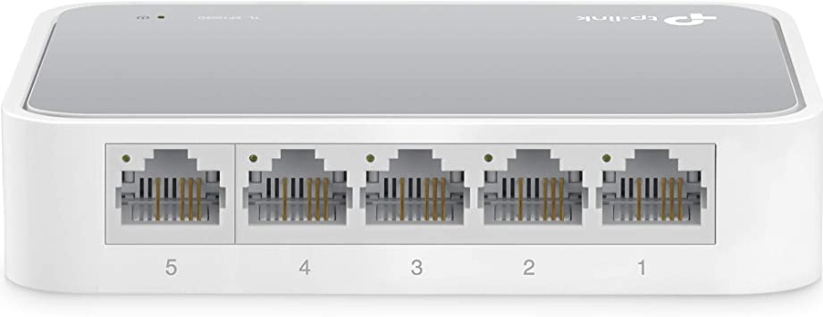 TP-Link TL-SF1005D - Switch Ethernet con 5 Puertos (10/100 Mbps ...