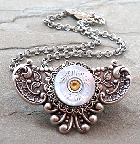 Shotgun Shell Necklace Winchester 12 Gauge