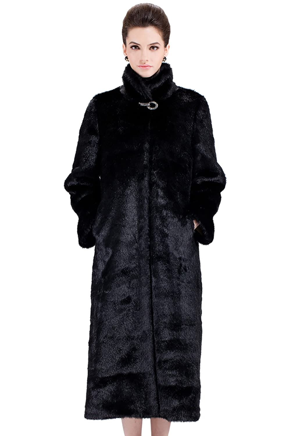 Vintage Coats & Jackets | Retro Coats and Jackets  Vintage Outerwear Mink Fabulous Faux Fur Coat $277.00 AT vintagedancer.com