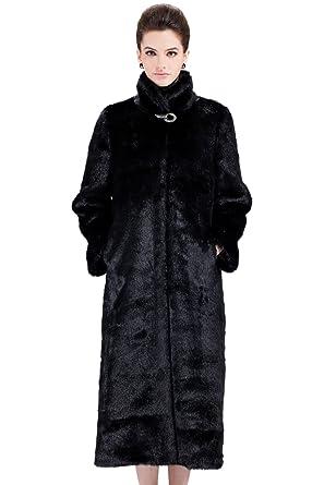 Clearance! Adelaqueen Women&39s Black Elegant and Vintage Mink Faux
