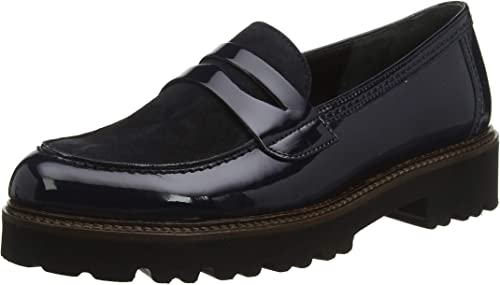 Gabor Shoes Women's Basic Loafers, Blue