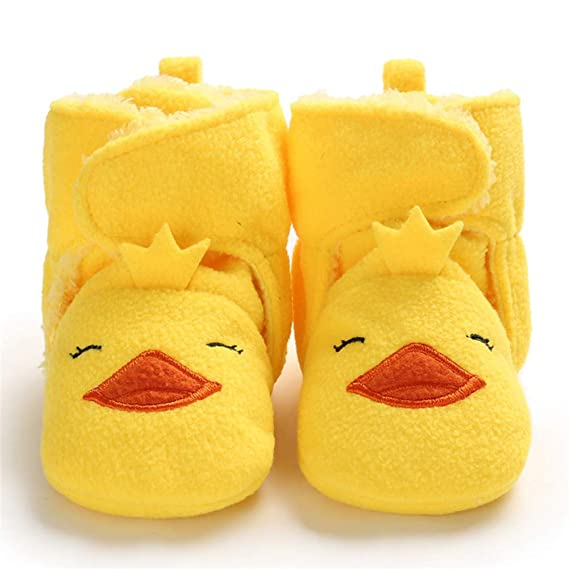 0-1-Year-Old Baby Cute Animal Warm Toddlers Soft Soles Cotton Socks Shoes Boots
