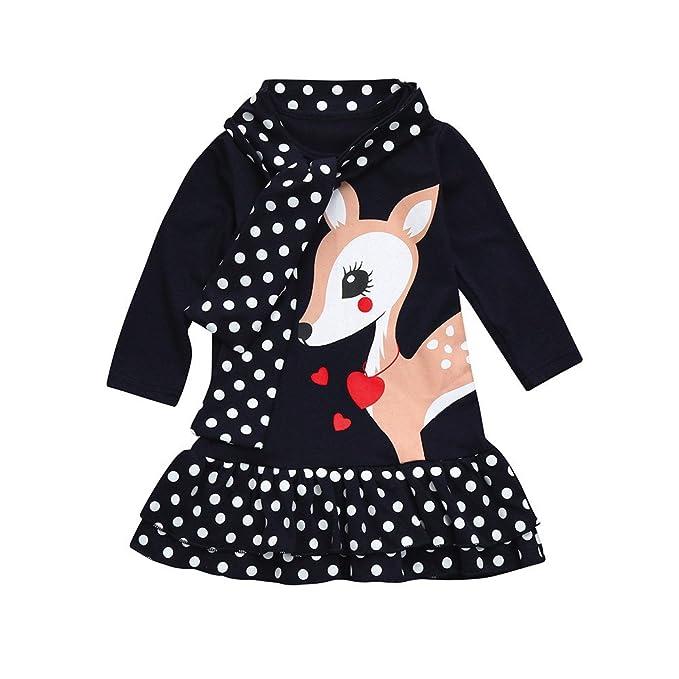 Amazon.com: Dot Dress Polka - Vestido para bebé, niña ...