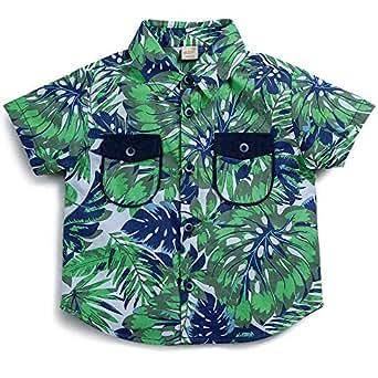 Camisa Liberdade Green Verde - Toddler Menino 18-24M