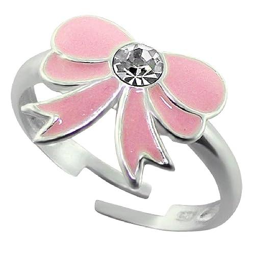 0ba70b2c50a1 So Chic Joyas© niños anillo anillo nudo cinta email plata 925  Amazon.es   Joyería