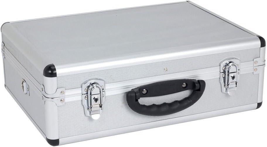 KREATOR KRT640102S - Maletín de alu 460x330x155mm plata