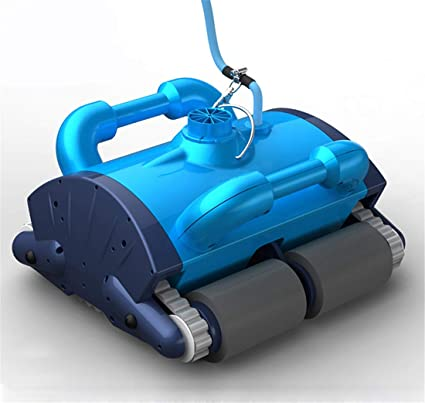 Homeure Robot automático Limpiafondos Eléctrico para Piscinas Fondo y Paredes Limpiafondos Autónomo Aspirador