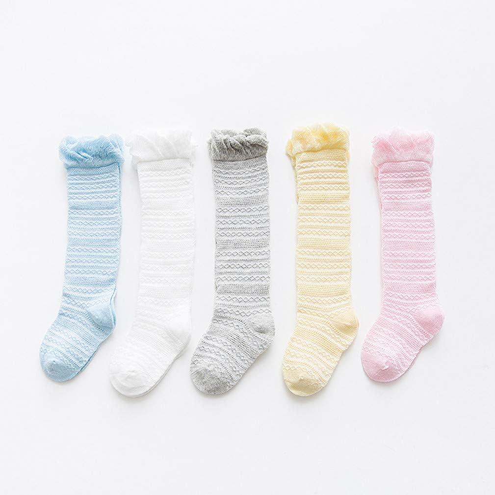 Kids Girls Warm Socks Tights Knee High Sock Baby Toddler Dress Baby Socking 1-5Y
