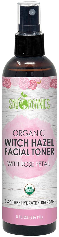 Organic Rosewater Witch Hazel Toner