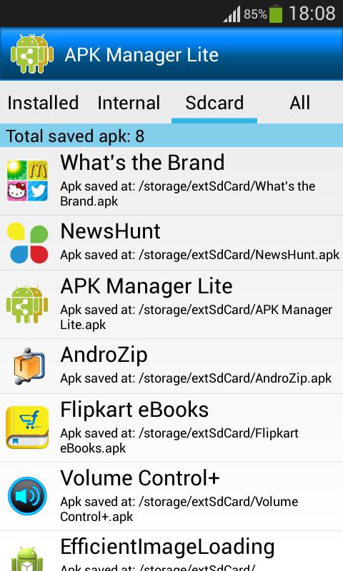 APK Manager Lite