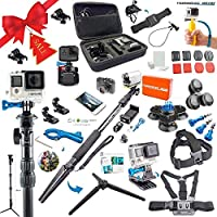 Nomadic Gear 55-in-1 Action Camera Accessories Kit for GoPro, Sony Action Camera, Garmin, Ricoh Action Cam, SJCAM, iPhone and Android | Epic Photo Shooting 101 ebook