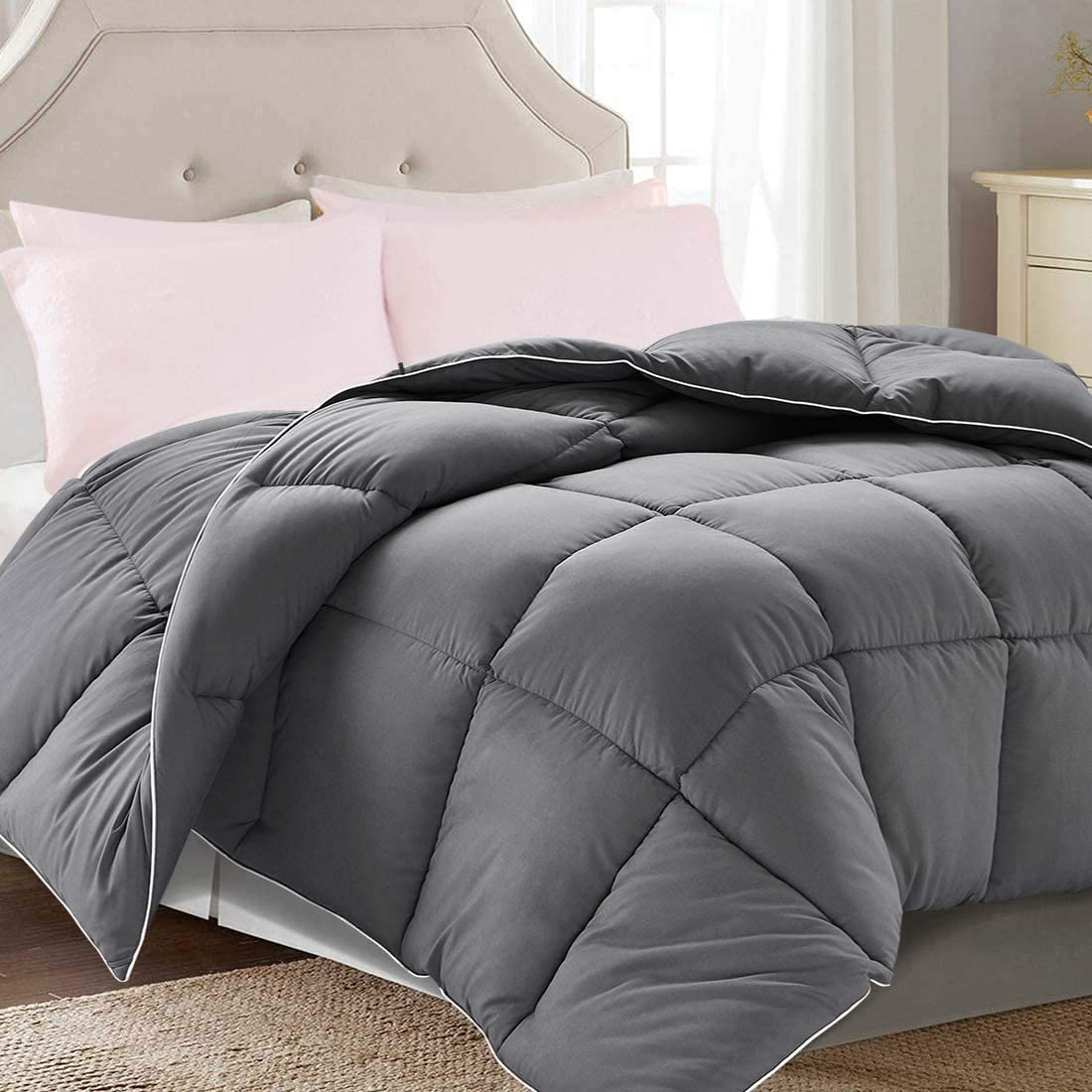 Premium Brushed Down Alternative Comforter Duvet Insert All Season 13 Colors