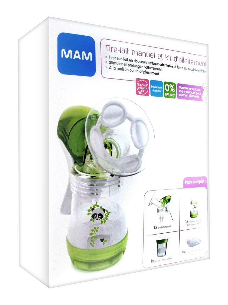 MAM Milchpumpe Handbuch und Kit Stillkissen