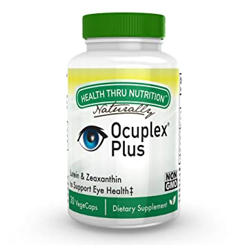 Ocuplex Plus For Healthier Eyes now with 10 mg of Lutein and 2 mg of  Zeaxanthin