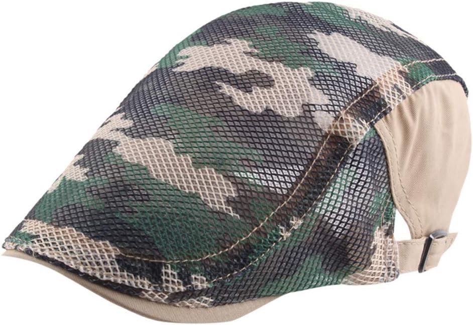 Boina de Verano, MINXINWY Sombrero de Viento británico Retro ...