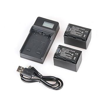 Amazon.com: decwang Batería + Cargador de batería LCD para ...