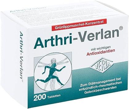 Arthri-Verlan Grünlippmuschel-Konzentrat Tabletten, 200 pzas ...