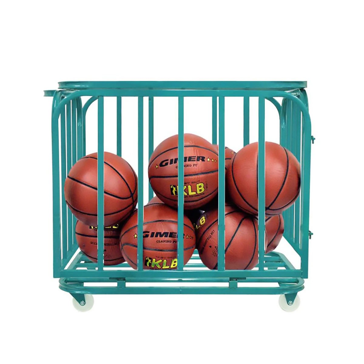 GIMER 10/600 BASKET BASKETBALL PORTAPALLONI 80 x 60 x 70CM BASKETBALL SPORT by Gimer
