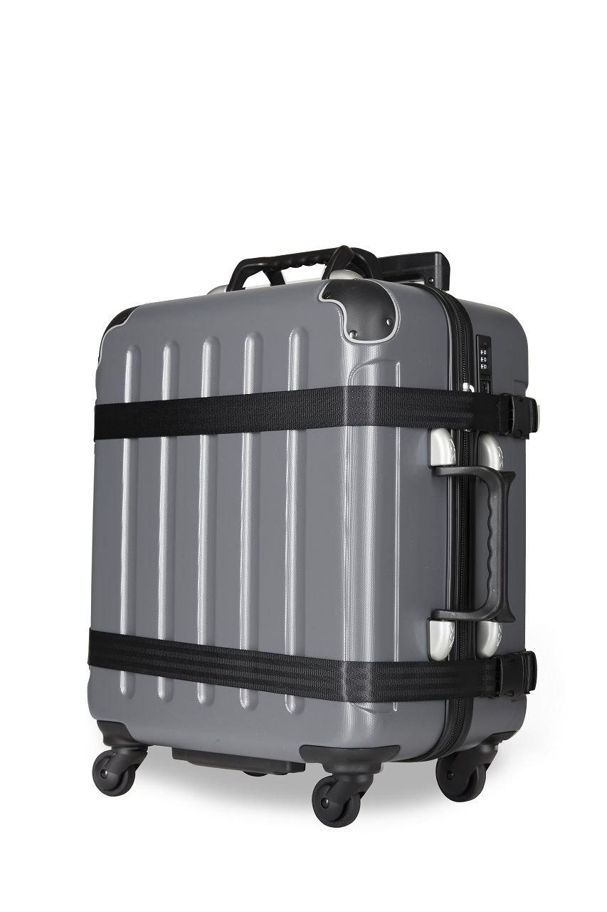 VinGardeValise Petite 02 Wine Carrier Suitcase (Dark Grey) by Vin Garde Valise