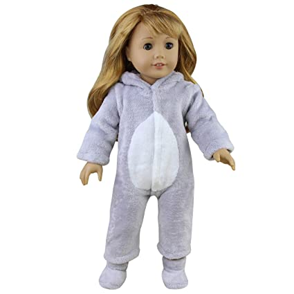 e0a7305af6dbc Amazon.com: Ecore Fun Lot of 2 Item America 16-18 Inch Girl Doll ...