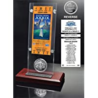 $57 » Super Bowl 39 Ticket & Game Coin Collection
