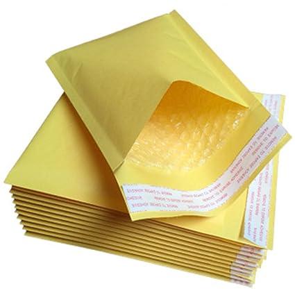 Bolsa de sobres amarillos, 10 bolsas de correo acolchadas de ...