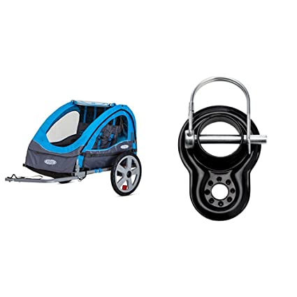 Amazoncom Instep Take 2 Double Bicycle Trailer With Coupler