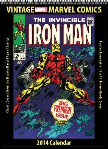 UPC 724638058706, Marvel Comics 2014 Vintage Calendar