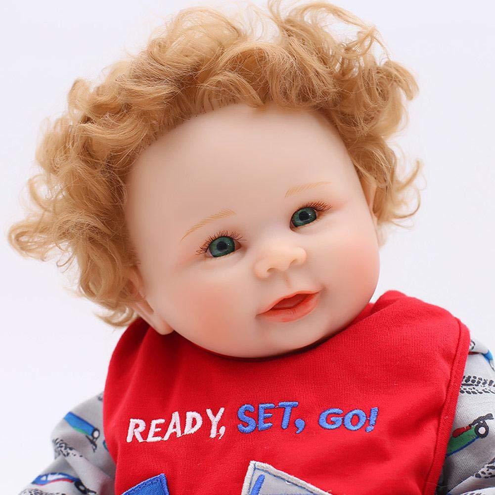 Realista Muñeca Renacida Durmiendo Muñeca Real Boy Muñeca de Vinilo Realmente Recién Nacida Muñeca Bebé Traje Regalo de Silicona Suave Cuerpo Completo ...