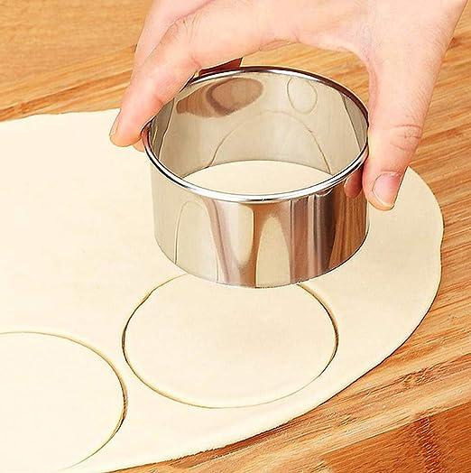 Molde Pasta Moldes de Galletas,Cortadores de masa enrollables m/áquina para hacer ravioles bola de masa accesorio para herramientas de prensa de pasta para panader/ía de cocina