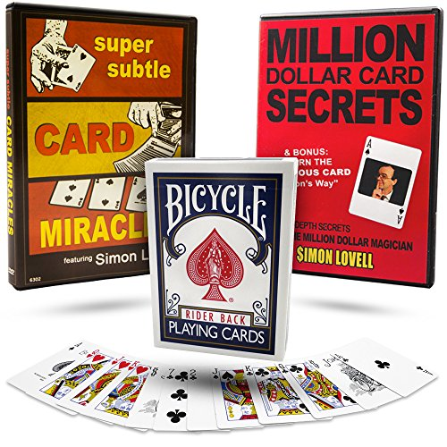 Self Working Card Tricks Magic Complete With Bicycle Deck