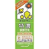 キッコーマン 特濃調整豆乳(特定保健用食品) 200ml 30本セット 常温保存可能