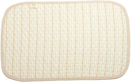 Heaviesk Raya Multicolor Algodón de Color orgánico Capa Impermeable Impermeable Cambiador de bebé Cambiando la Almohadilla de orina Sábanas para recién Nacido: Amazon.es: Hogar