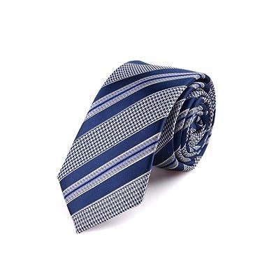 Hombres Corbata Moda 6Cm Coreano Corbata Estrecha Hombres Color ...