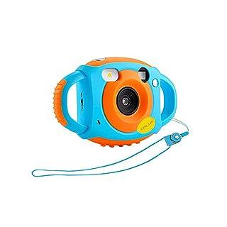 AIBAB Fotocamera Digitale per Bambini 500 Milioni di Pixel Schermo da 1,77 Pollici Video HD Anti-Caduta Giocattoli Educativi per Bambini Regalo