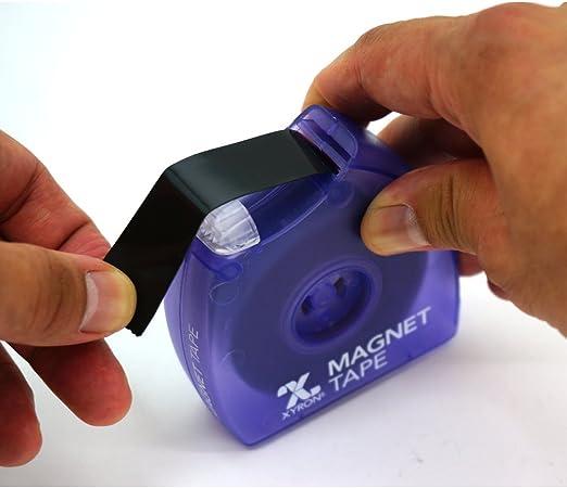Xyron 0119 Dévidoir De Bande Magnétique Adhésive Verso Adhésif 19mm X 76m