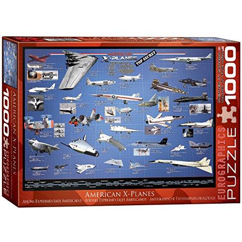 EuroGraphics American Aviation X Planes 1000 Piece Puzzle