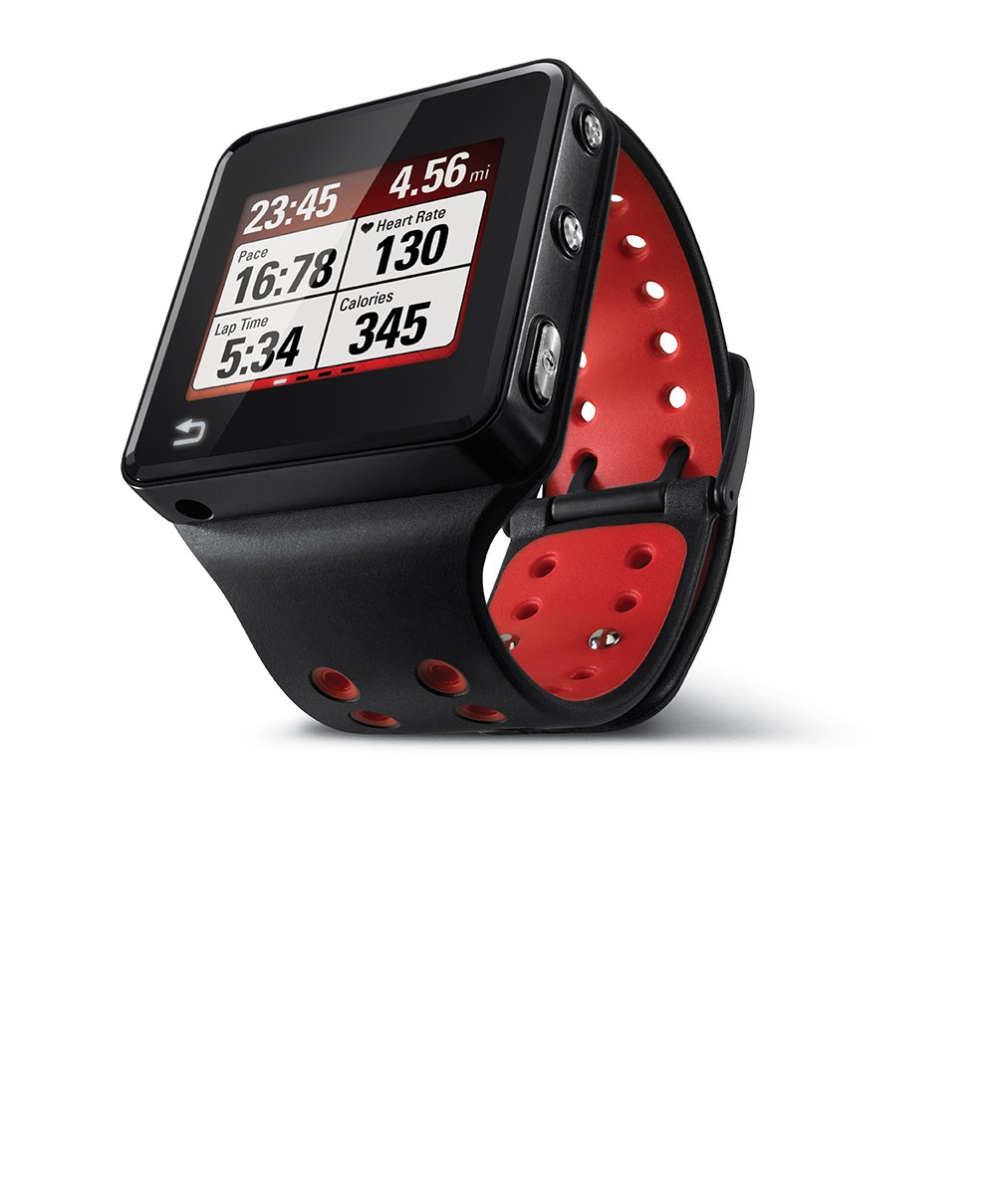Motorola Motoactv 8gb Gps Sports Watch And Mp3 Player Photo Of A Heart Rate Monitor Showing Chest Strap With Wrist Discontinued By Manufacturer Cell Phones Accessories