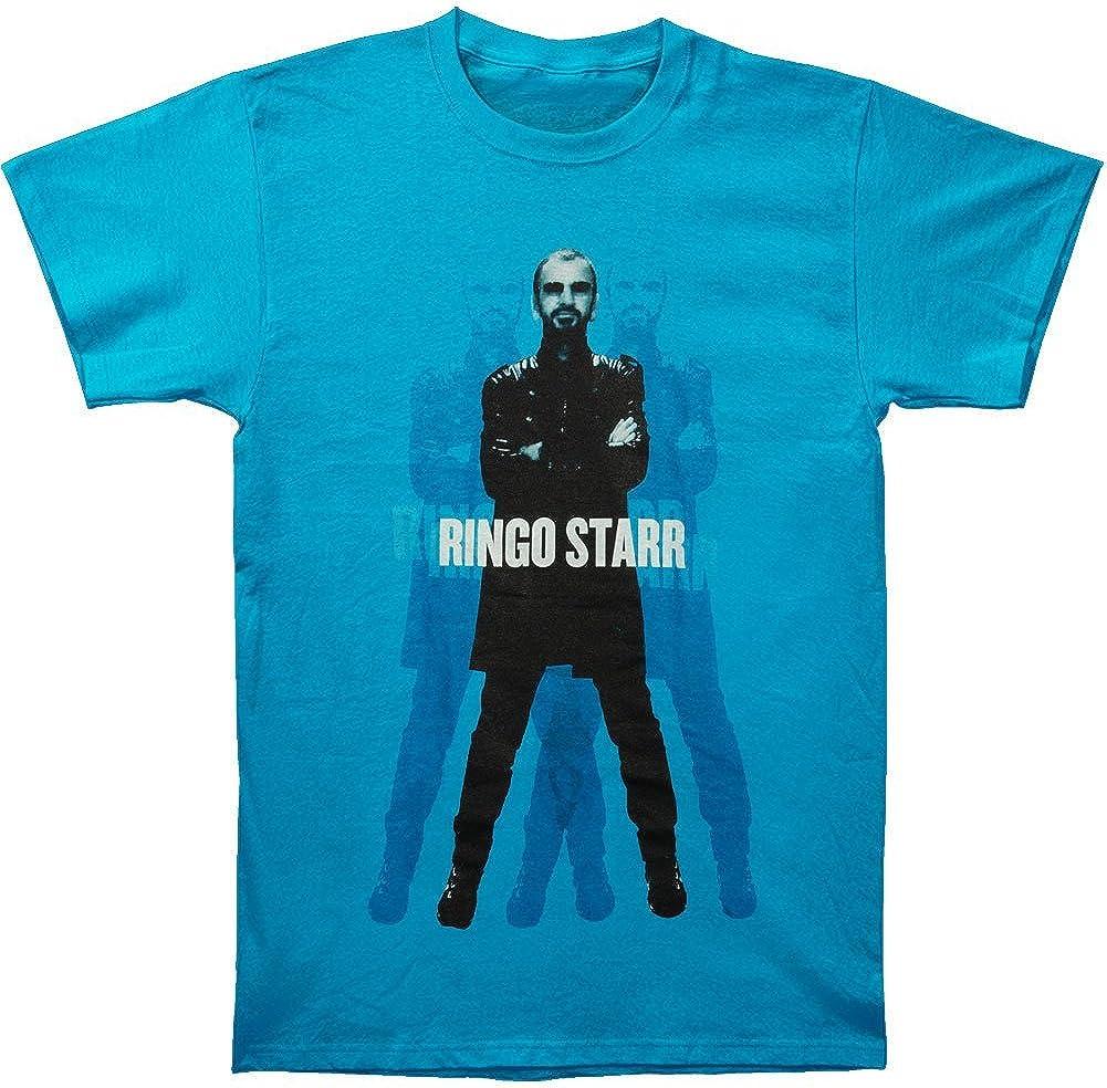Funny T-shirt Camiseta Graciosa Hombre Ringo Starr Standing Camiseta Azul: Amazon.es: Ropa y accesorios