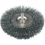 Silverline PB02 - Cepillo circular de acero ondulado (100 mm)