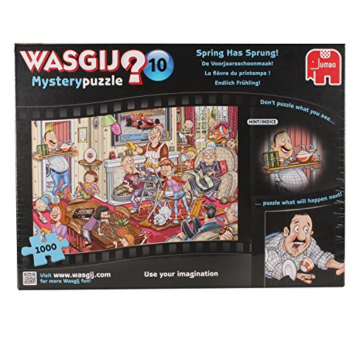 Wasgij Mystery 10 Spring Has Sprung Jigsaw Puzzle (1000 Pieces)