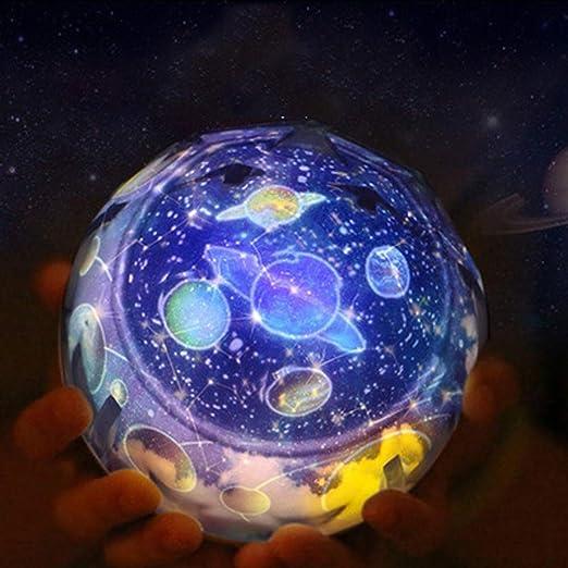 Estrella Noche luz, proyector Estrella romántica Estrella del mar ...