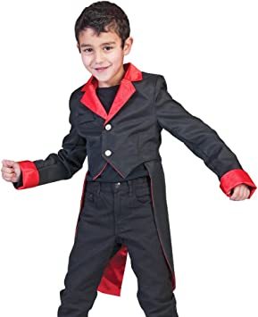 Disfraz de vampiro niño Halloween: Amazon.es: Juguetes y juegos