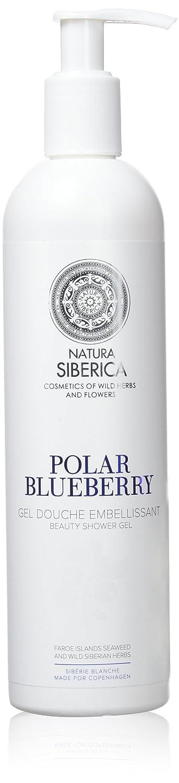 Natura Siberica Gel de Ducha Beauty, Arándano Polar - Paquetes de 12 x 400 ml - Total: 4800 ml Eurobio Lab OÜ 6477