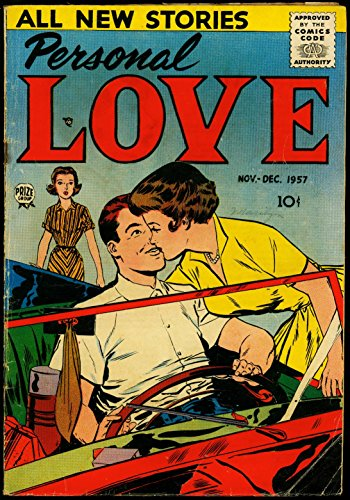 Personal Love #2 1957- Convertible cover- Love Triangle VG