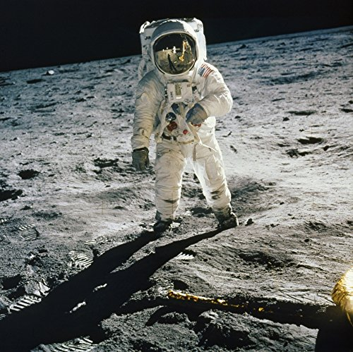 Apollo 11 Buzz Aldrin Nastronaut Edwin Buzz Aldrin Standing On The Moon After The Apollo 11 Landing 20 July 1969 Photographed By Astronaut Neil Armstrong (Reflected In AldrinS Visor With The Lunar Mod