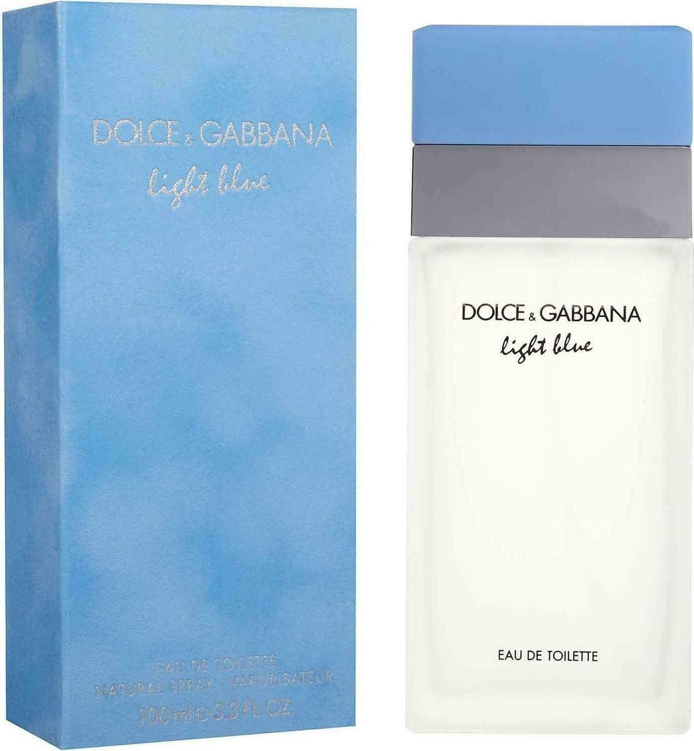 D G Light Blue By Dolce Gabbana For Women Eau De Toilette Spray 3 3 Ounces Dolce And Gabbana Light Blue Beauty