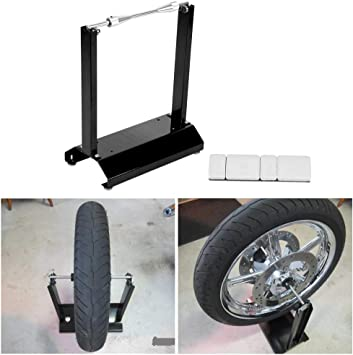 Motorcycle Black Wheel Balancer Balancing Stand Maintenance Rack Black Balance?Wheel